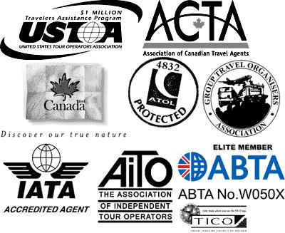 certificates logos map